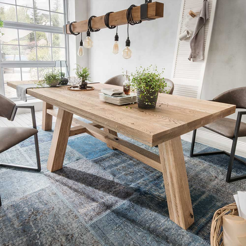 rustikaler esstisch massivholz. good betontisch esstisch modern