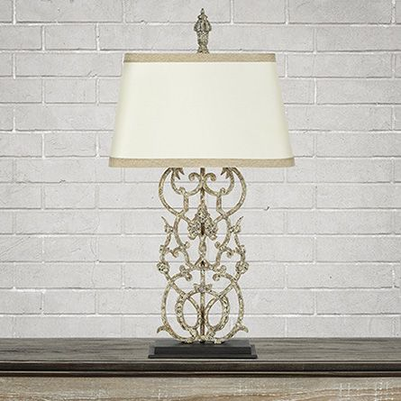 View the fielding table lamp from arhaus glowing with rustic elegance and timeless sophistication