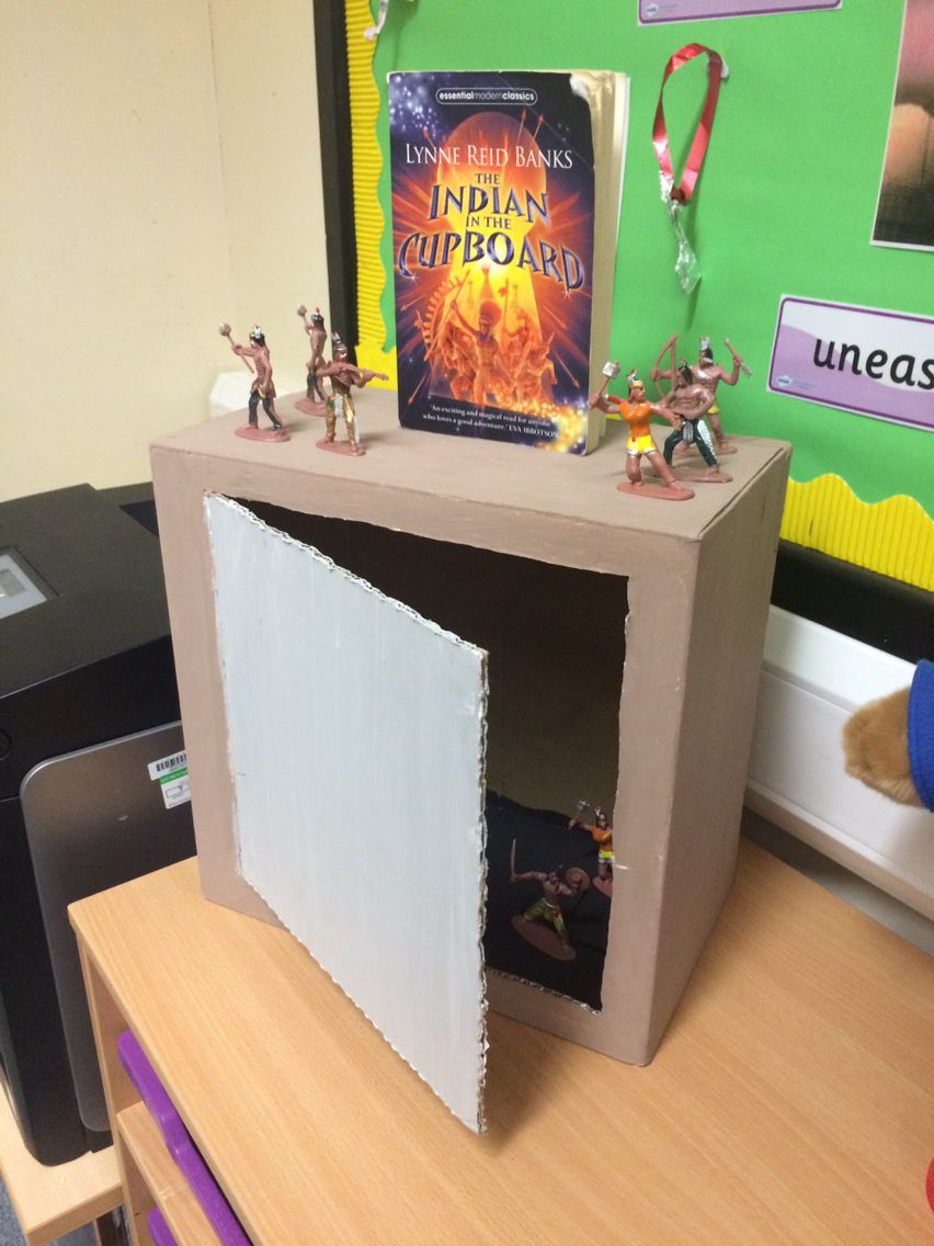 Indian In The Cupboard Display Ks2 Indian In The Cupboard Book Report Projects Reading Ideas