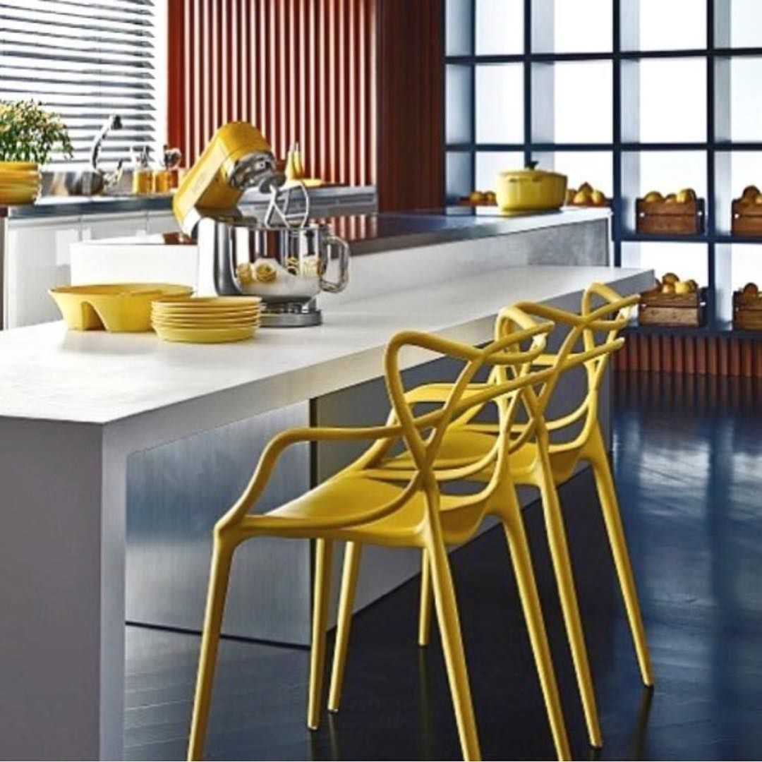 MASTERS Chairs In Mustard By Philippe Starck For Kartell. Let Your Chairs  Be As Fashionable