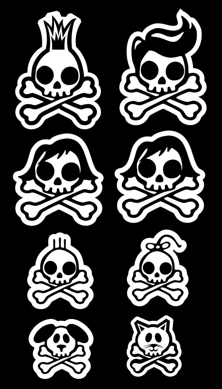 Pin On Sensational Skulls
