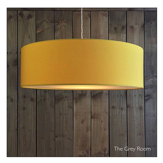 Yellow Drum Shade With Diffuser Various Sizes Yellow Light Shades Drum Shade Diy Drum Shade