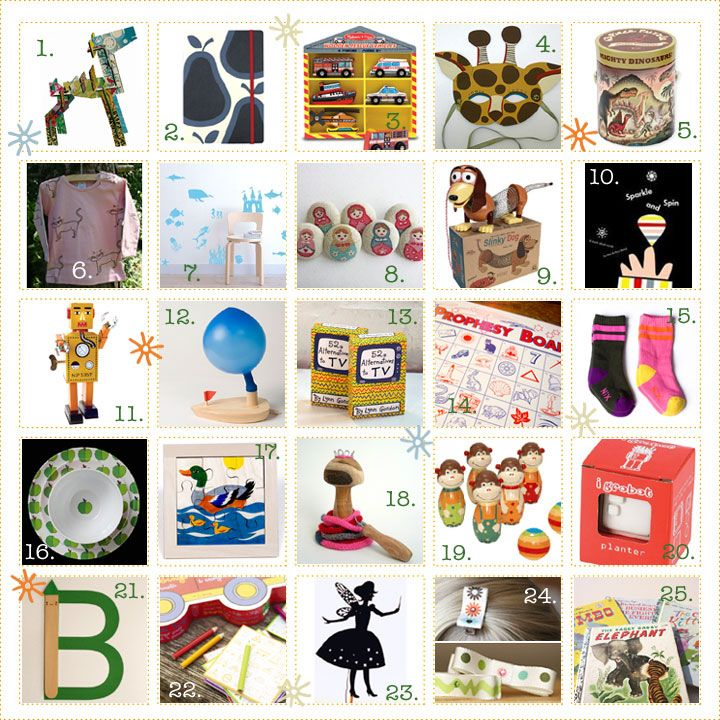Gift ideas under $ 25 BKids' Gift Guide 2008 | Christmas love