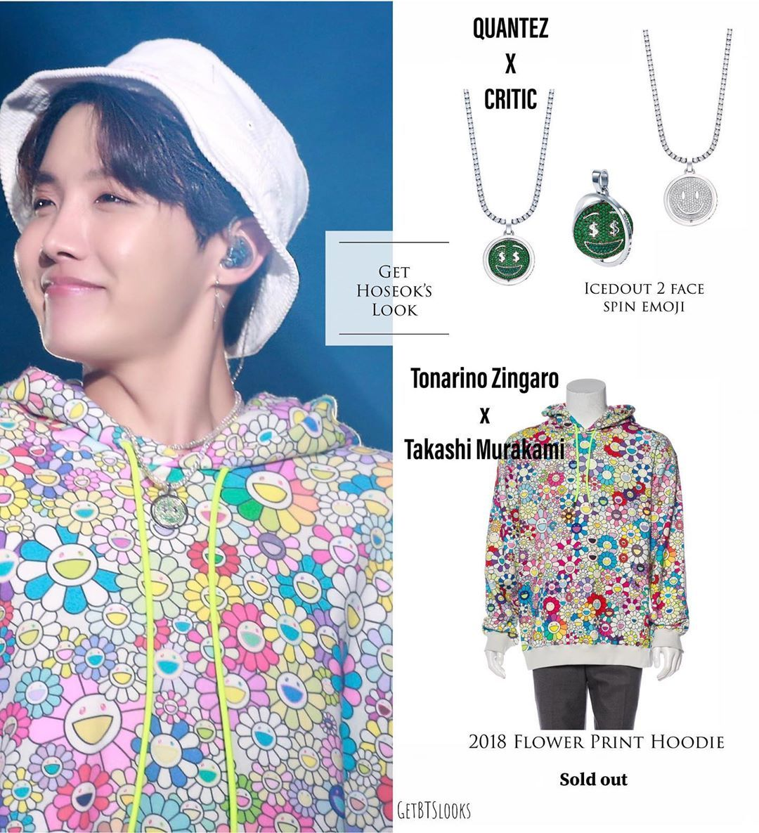 Bts Looks Outfits Di Instagram Hoseok 5th Muster Wearing Quanteztothenextlevel X Critic Wear Bts Inspired Outfits Flower Print Hoodie Bts Clothing