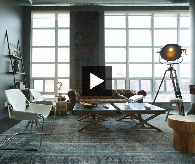 Sky High Industrial Style With Images Apartment Bedroom Decor Apartment Decorating