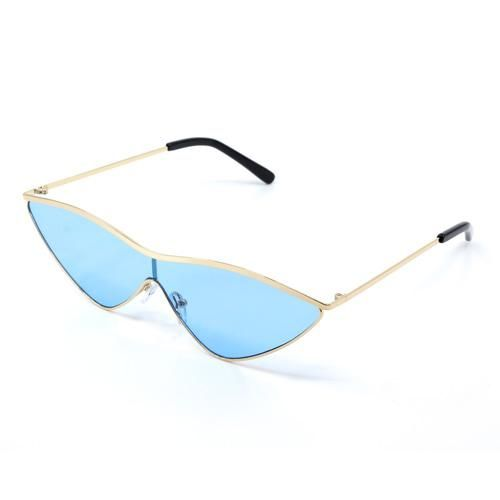92e412483a0 Vintage Styled Blue Sunglasses