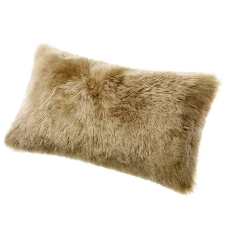 goods eclecticgoods sheepskin blush ombre pillow tibetan eclectic product com