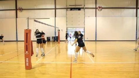 Volleyball Base To Release Defensive Drill Stack 4w With Images Volleyball Drills Volleyball Skills Volleyball Training