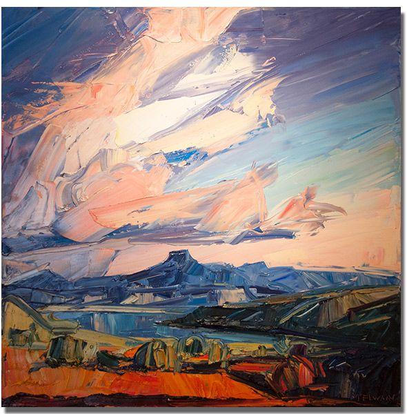 Louisa Mcelwain Seraphim Evoke Contemporary Santa Fe Painting Southwestern Art Modern Art Abstract
