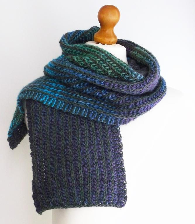 8 Gorgeous Free Knitting Patterns For Scarves Brioche Knit