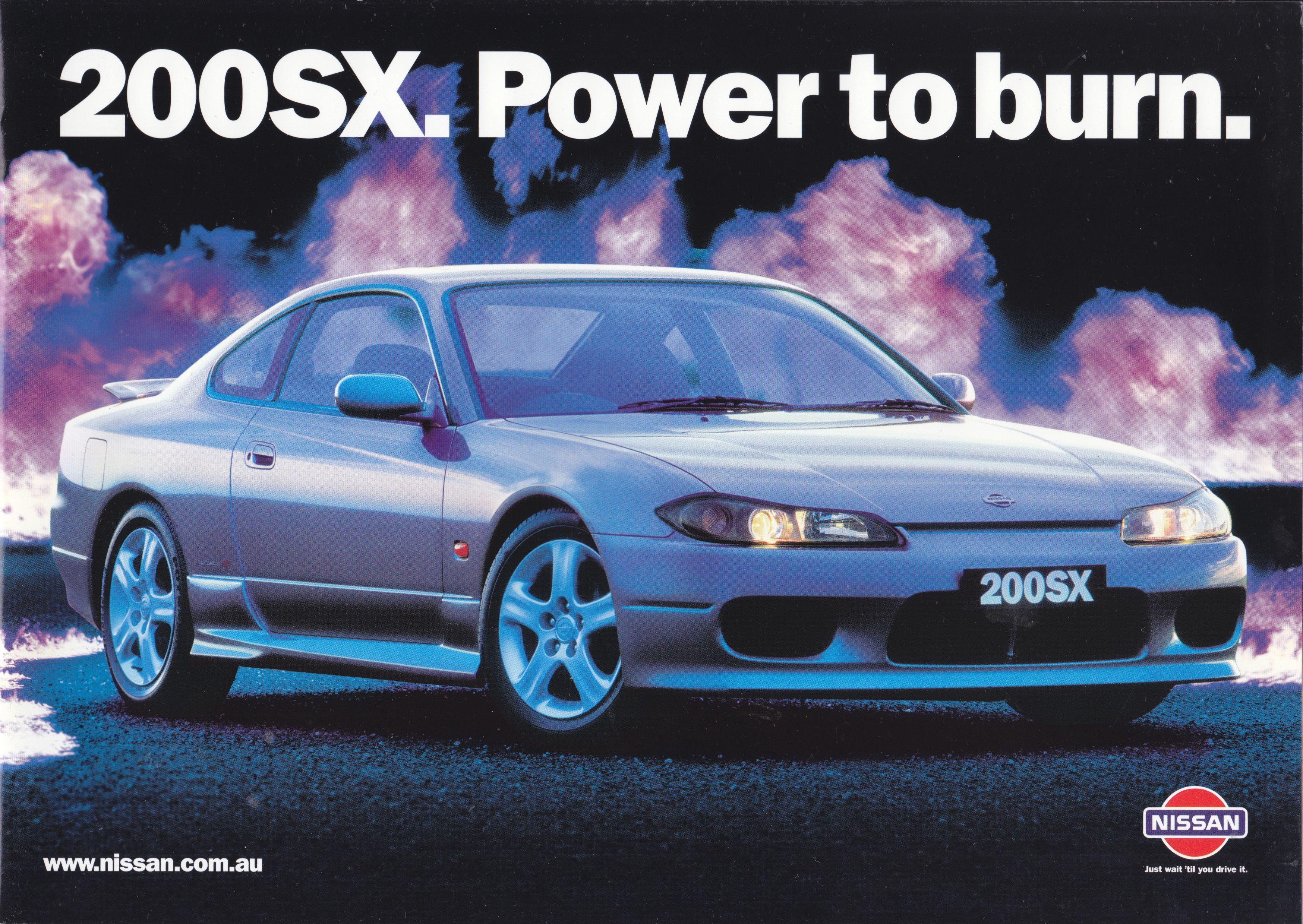 Nissan 200 SX, 20 page sales catalog, Australia, 3/2001 in