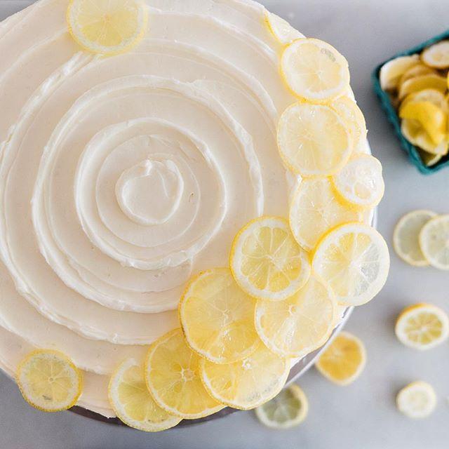 Sunny Lemon Poppy Seed Cake