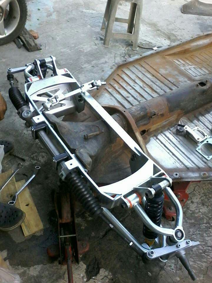 Custom Front Suspension For A Right Hand Drive Bug Vw