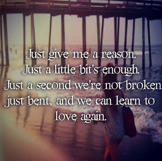 Learn To Love Again Heard That Pinterest Love Songs Lyrics