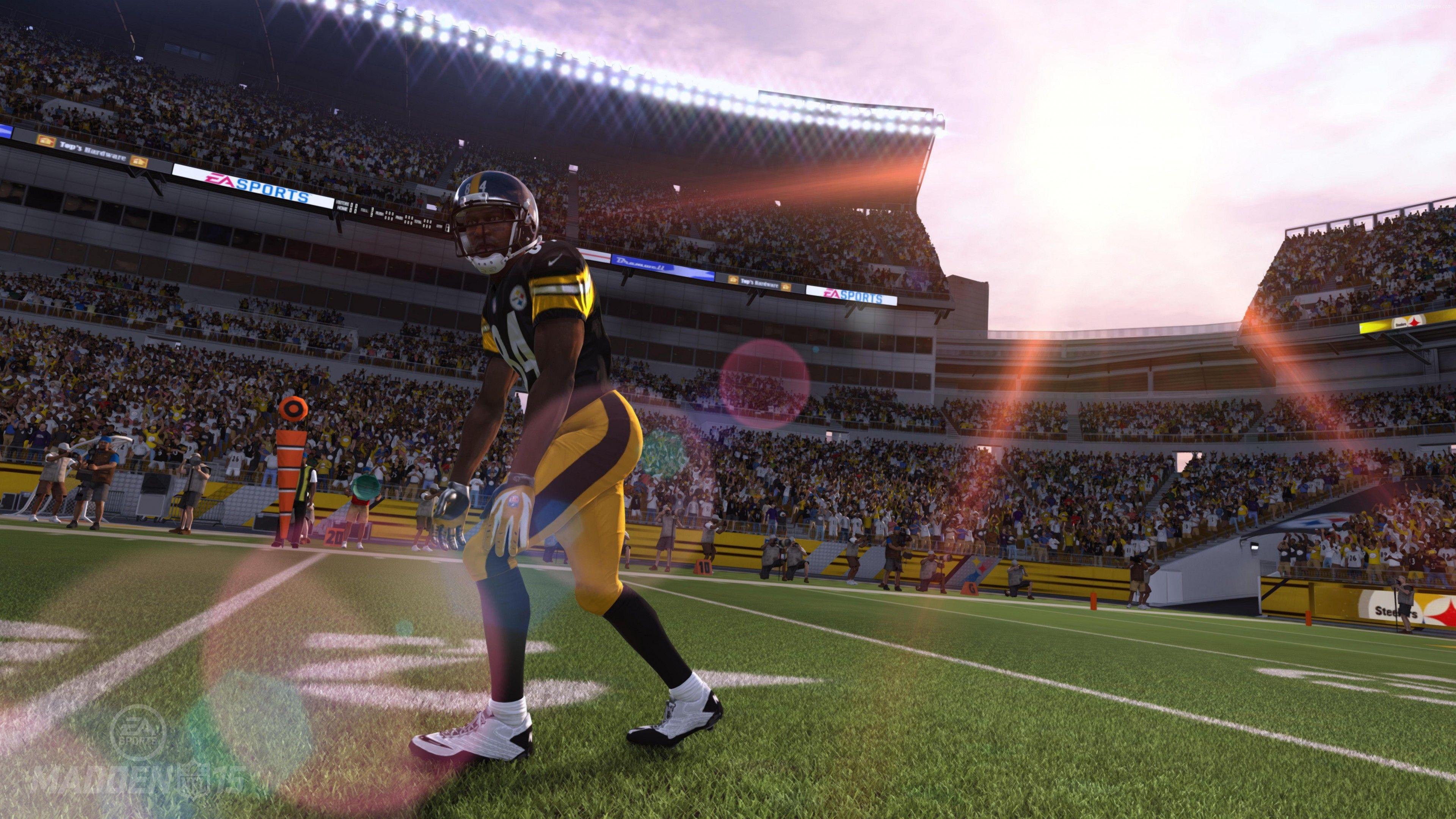 Wallpaper Madden NFL 15, american football, sports game