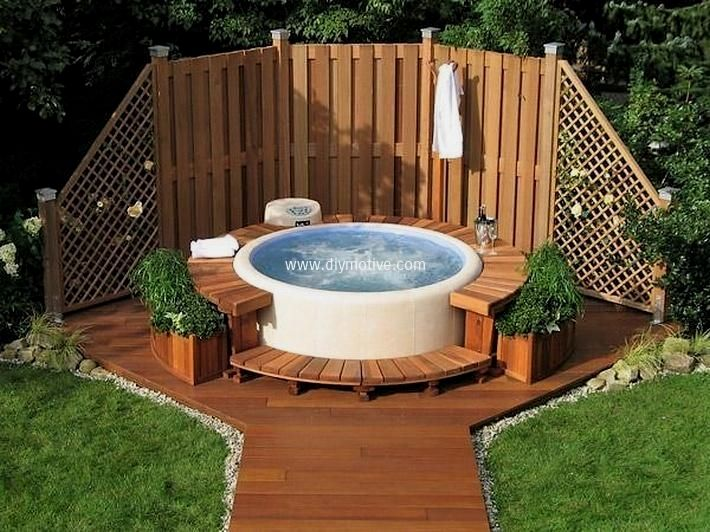 Photo of Flotte hottub-landskapsideer