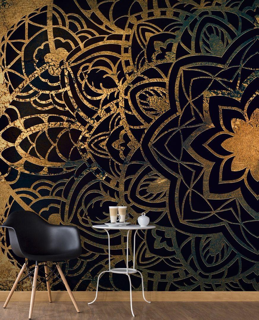 moderne fototapete oriental elegance motive der vlies foto tapete design florales motiv. Black Bedroom Furniture Sets. Home Design Ideas