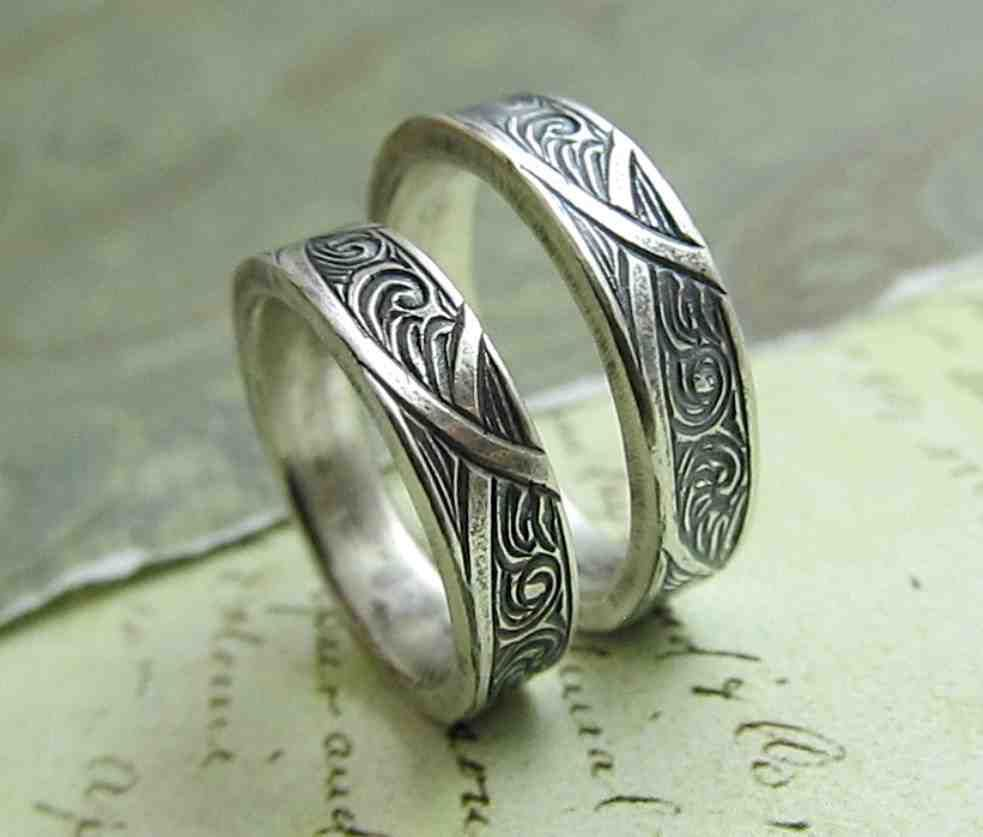Celtic Wedding Rings His And Hers Celtic Wedding Ring Sets Antique Wedding Rings Celtic Wedding Rings