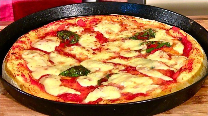 Italienischer Pizzateig Ohne Hefe Pizzateig Ohne Hefe Und Backpulver