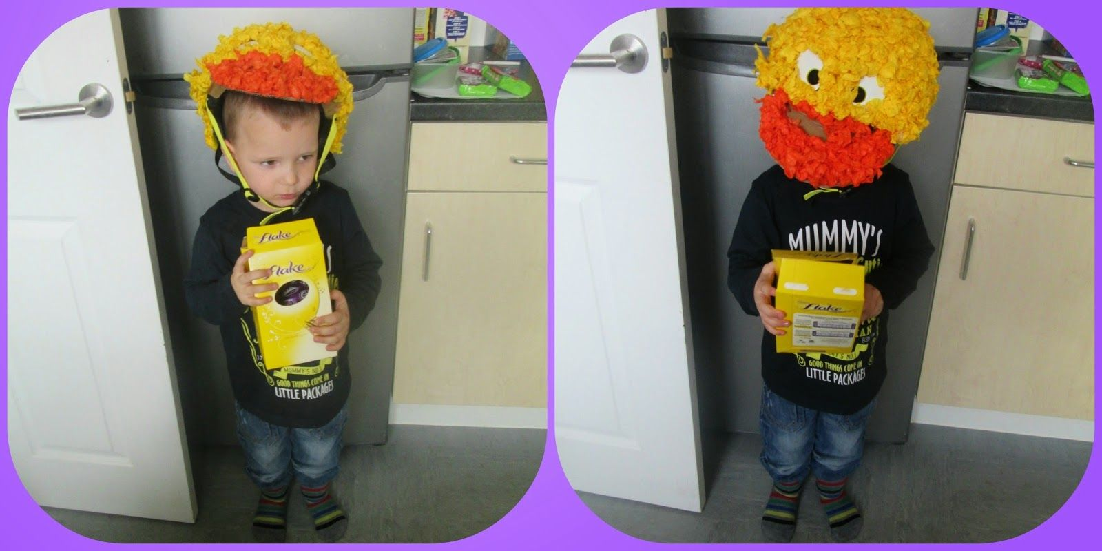 Two Monsters and Me: A simple Easter Hat, The Results