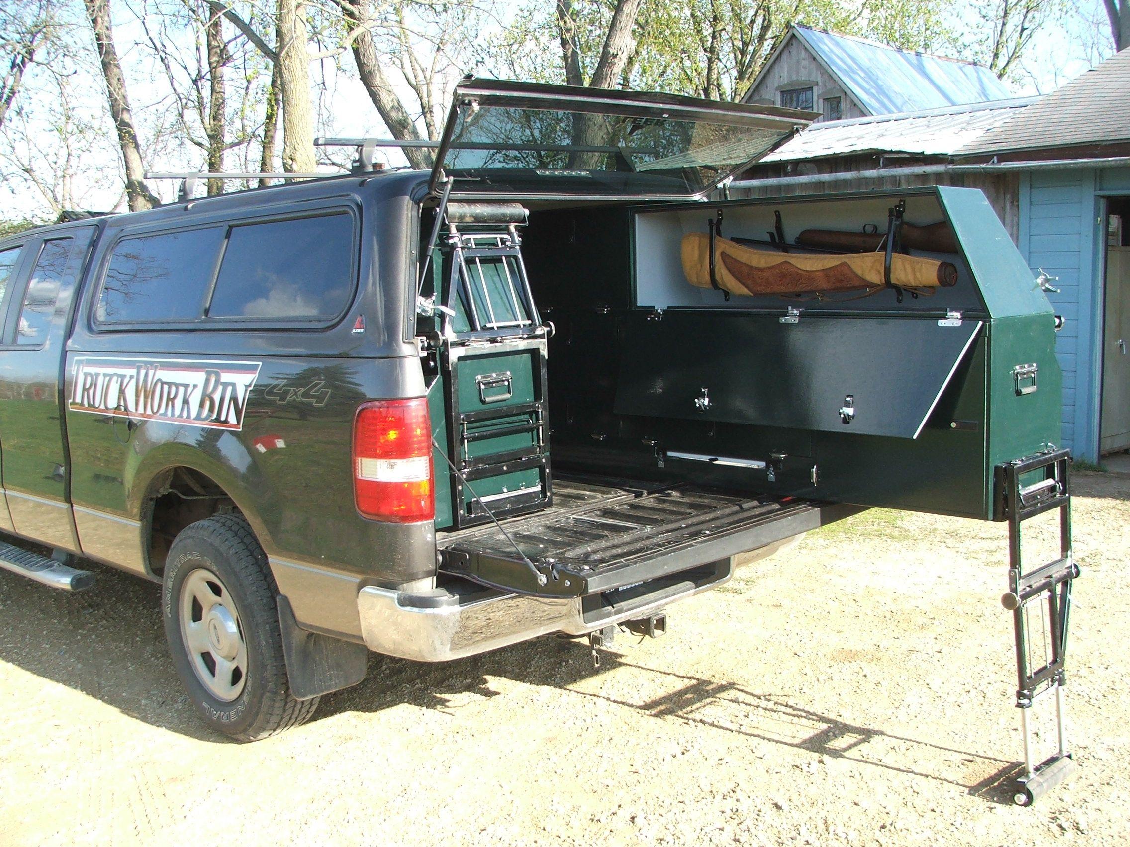 Gear Storage On Wheels Truck Bed
