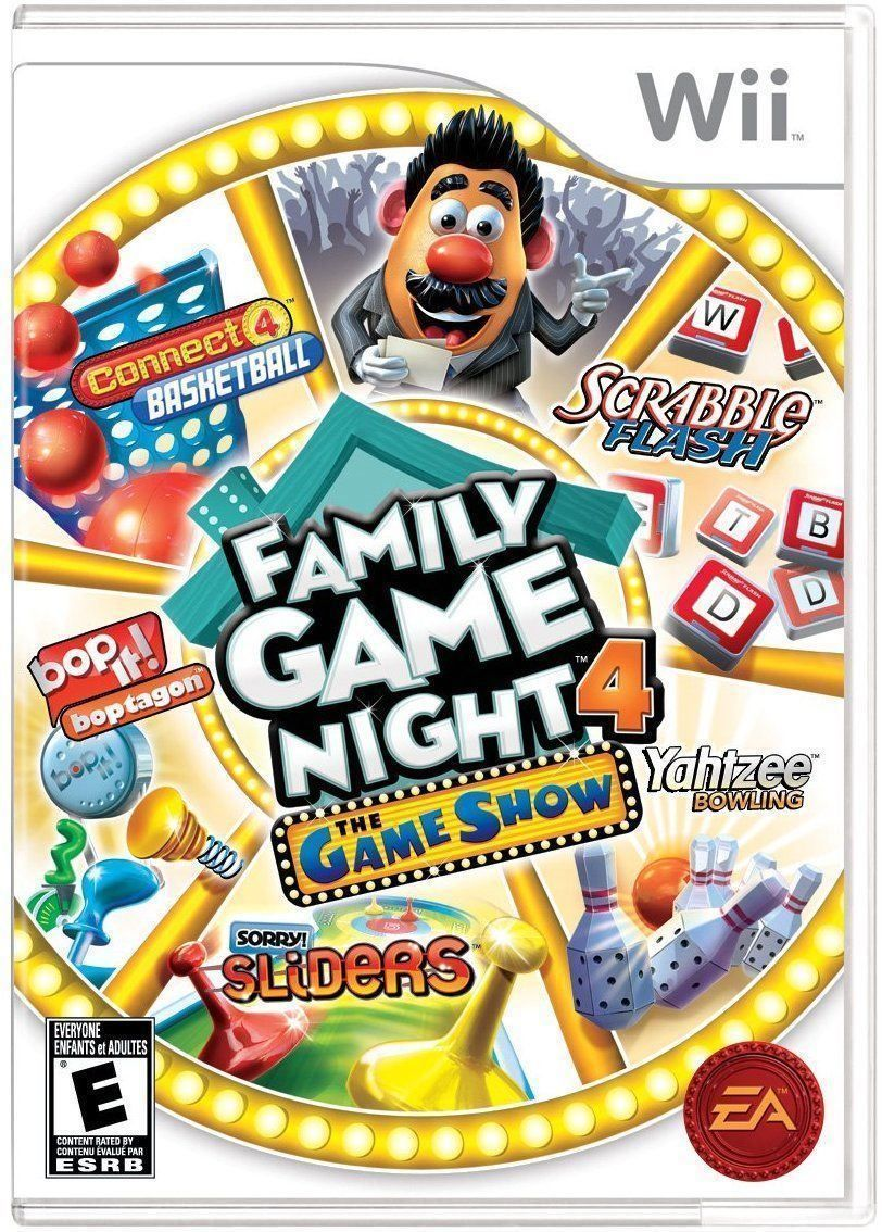 Family Game Night 4 The Game Show Nintendo Wii Family