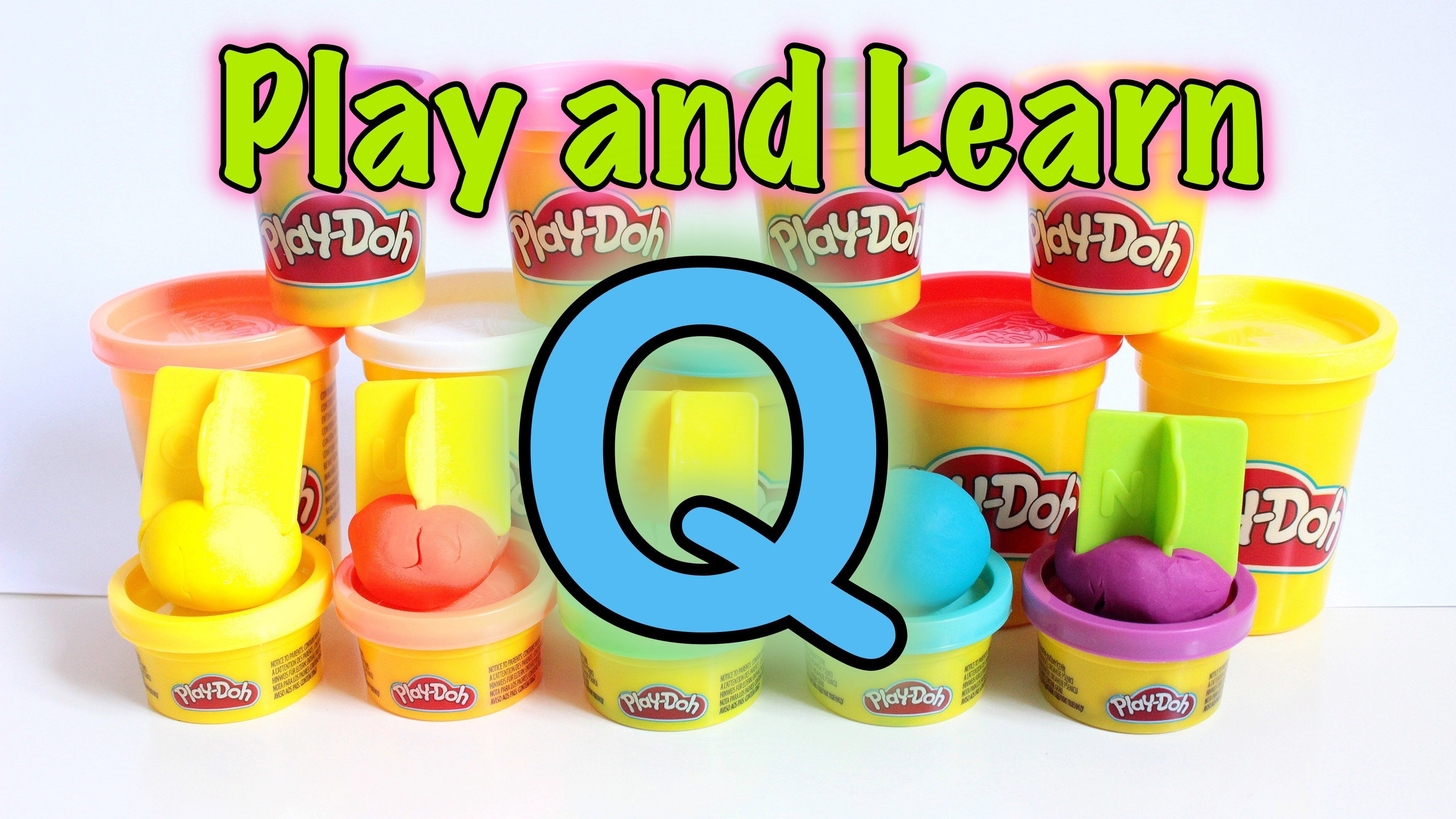 Play And Learn With Play Doh Spelling Words English