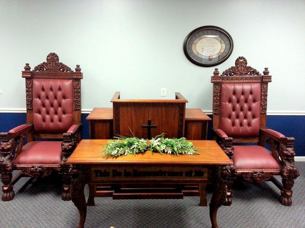 ChurchMart® | Church Furniture | Church Chairs   Lion Of Judah Pulpit Set,  Call