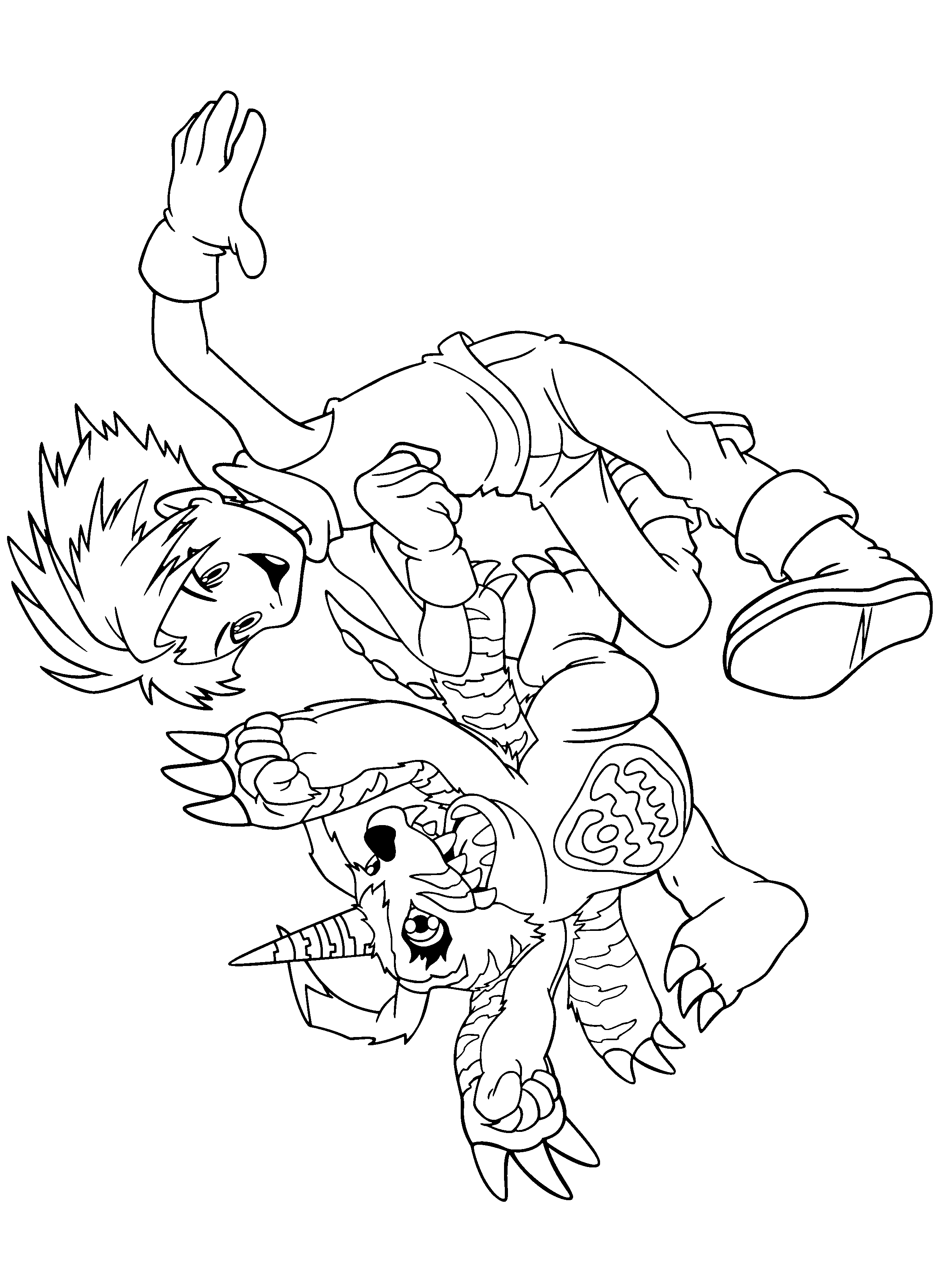 digimon coloring pages 187 png 2400 3300 lineart digimon