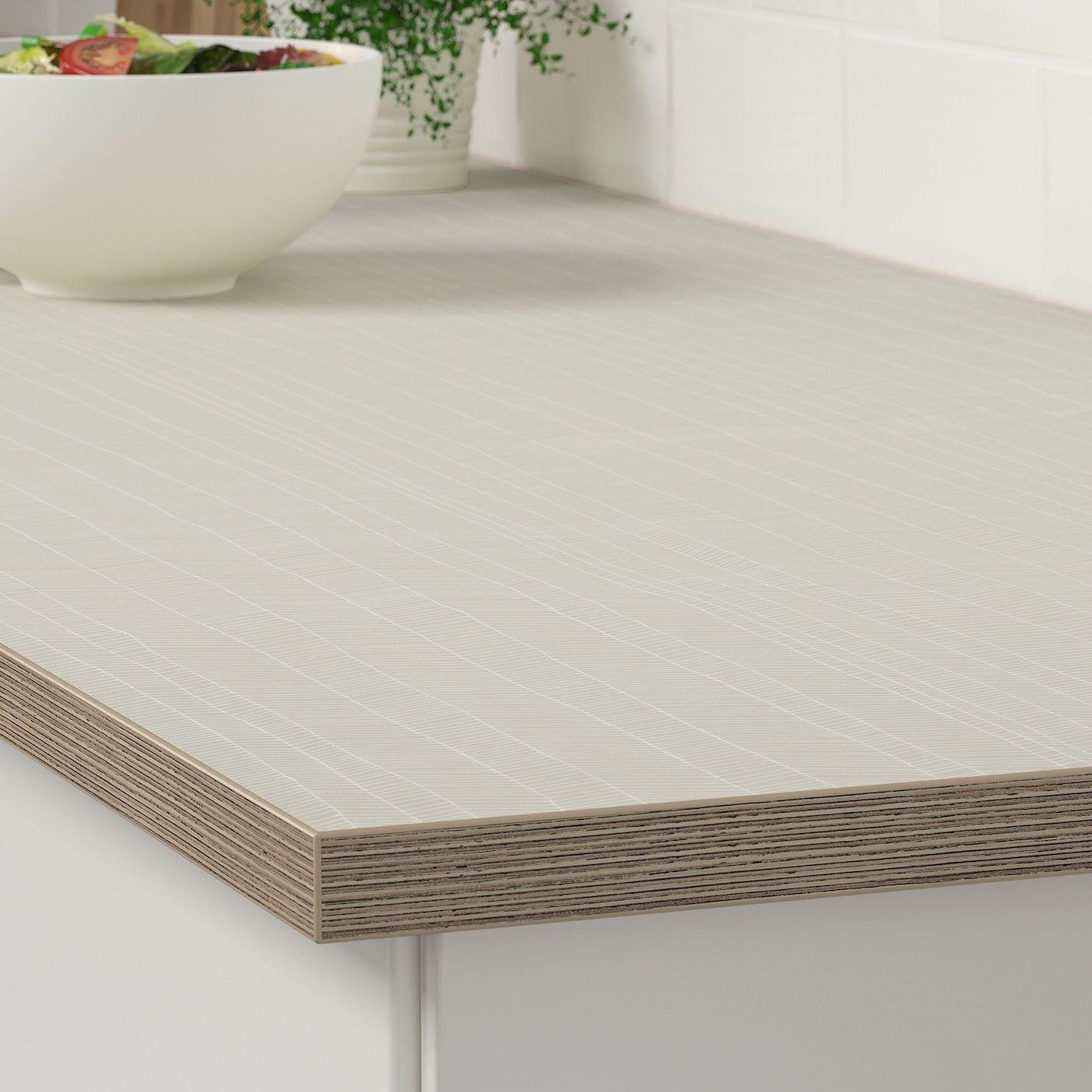 Ekbacken Arbeitsplatte Mattiert Beige Gemustert Laminat Ikea Osterreich Laminate Countertops Countertops Laminate