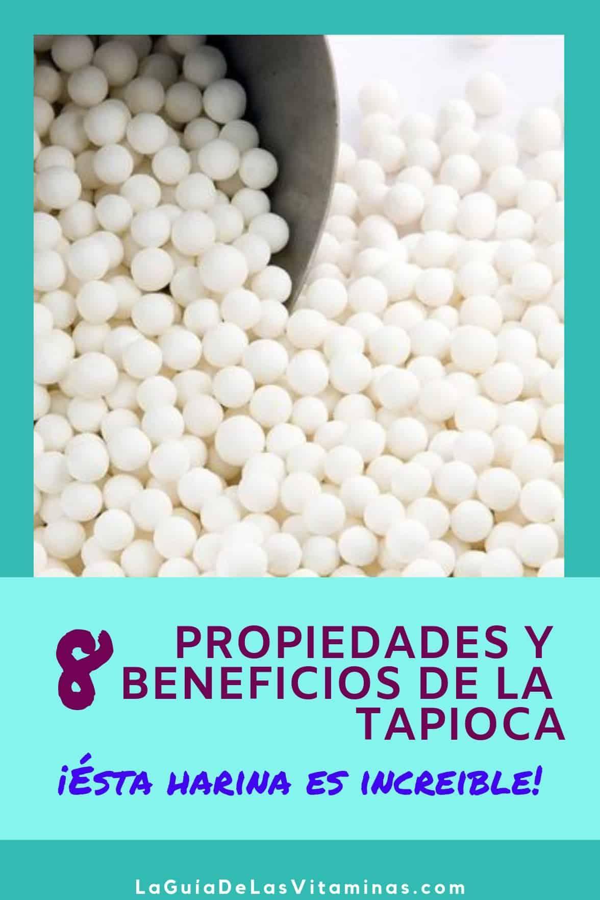 Propiedades de la tapioca