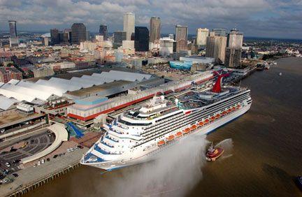 Port Of New Orleans Travel Pinterest Cruises Cruise Ships - Cruise ships new orleans
