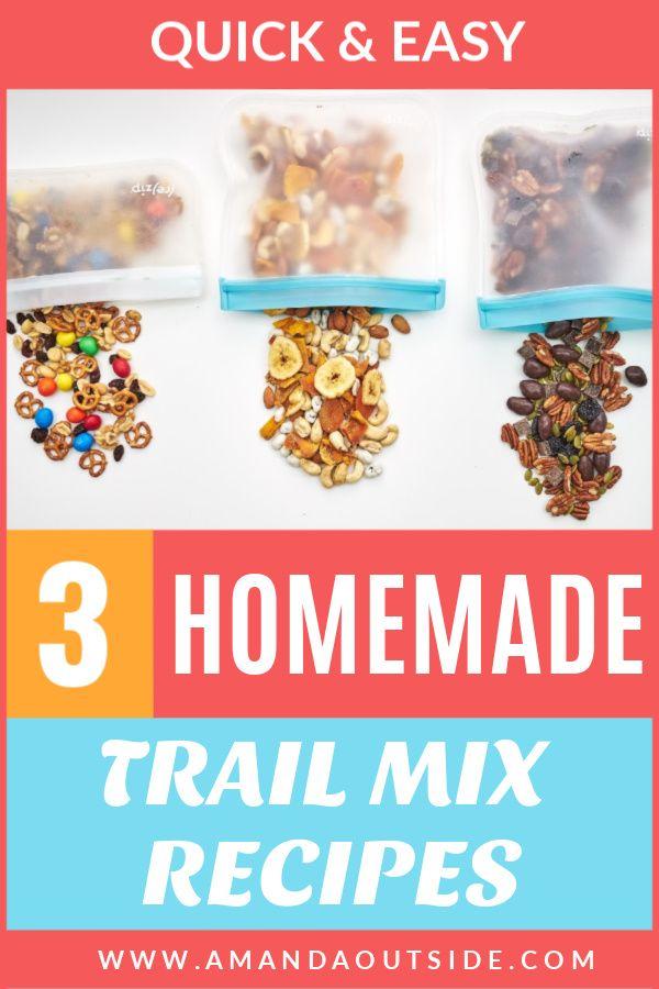 Homemade Trail Mix [3 WAYS