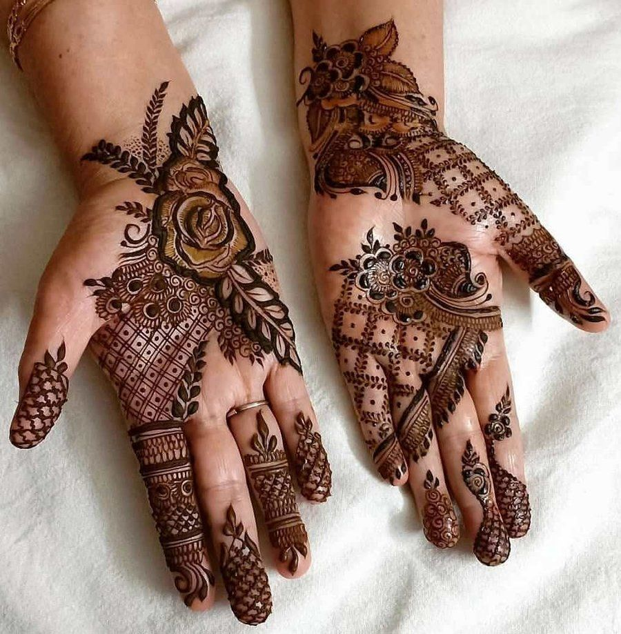64cd97ff3 For the deep-rooted cultural past and traditional significance it holds for  a bride, Mehndi is an imperative and an unskippable aspect of her wedding  look.