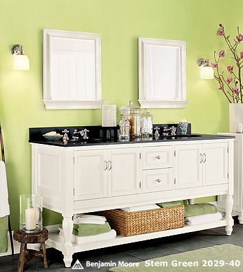 Benjamin Moore Fresh Cut Gr Kids Bathroom Paint Vanity This Color