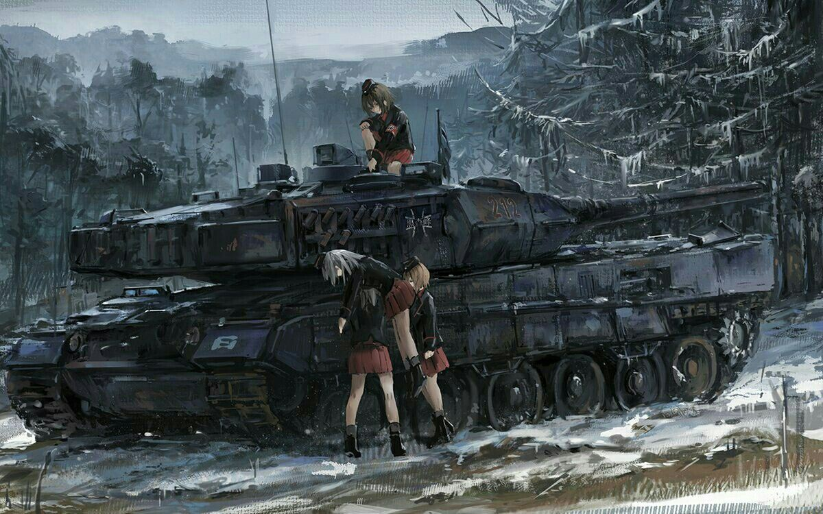Pin by Korwan Songsa on girls und Panzer Anime military