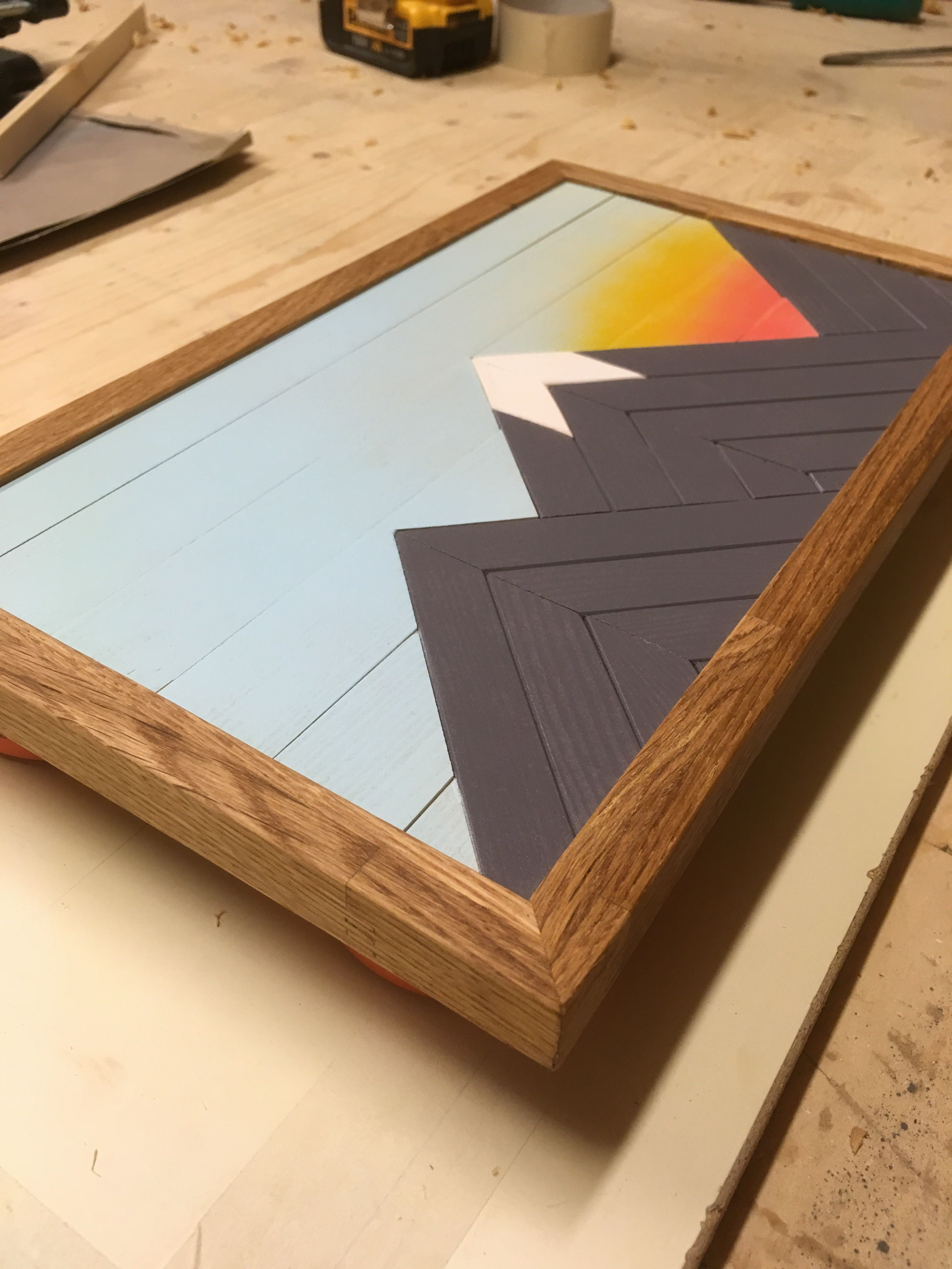 Wood Art By Bless Design Tannen Bergbilder Seekiefer