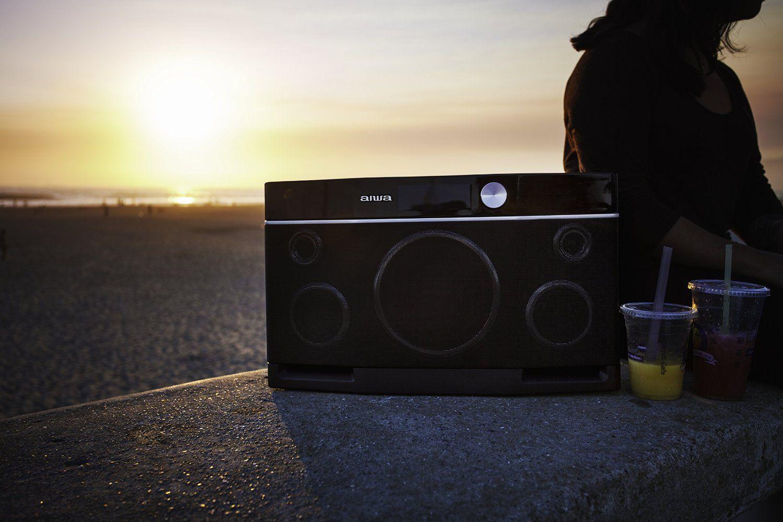 Best Loudest Aiwa Exos 9 Portable Bluetooth Speaker Bluetooth