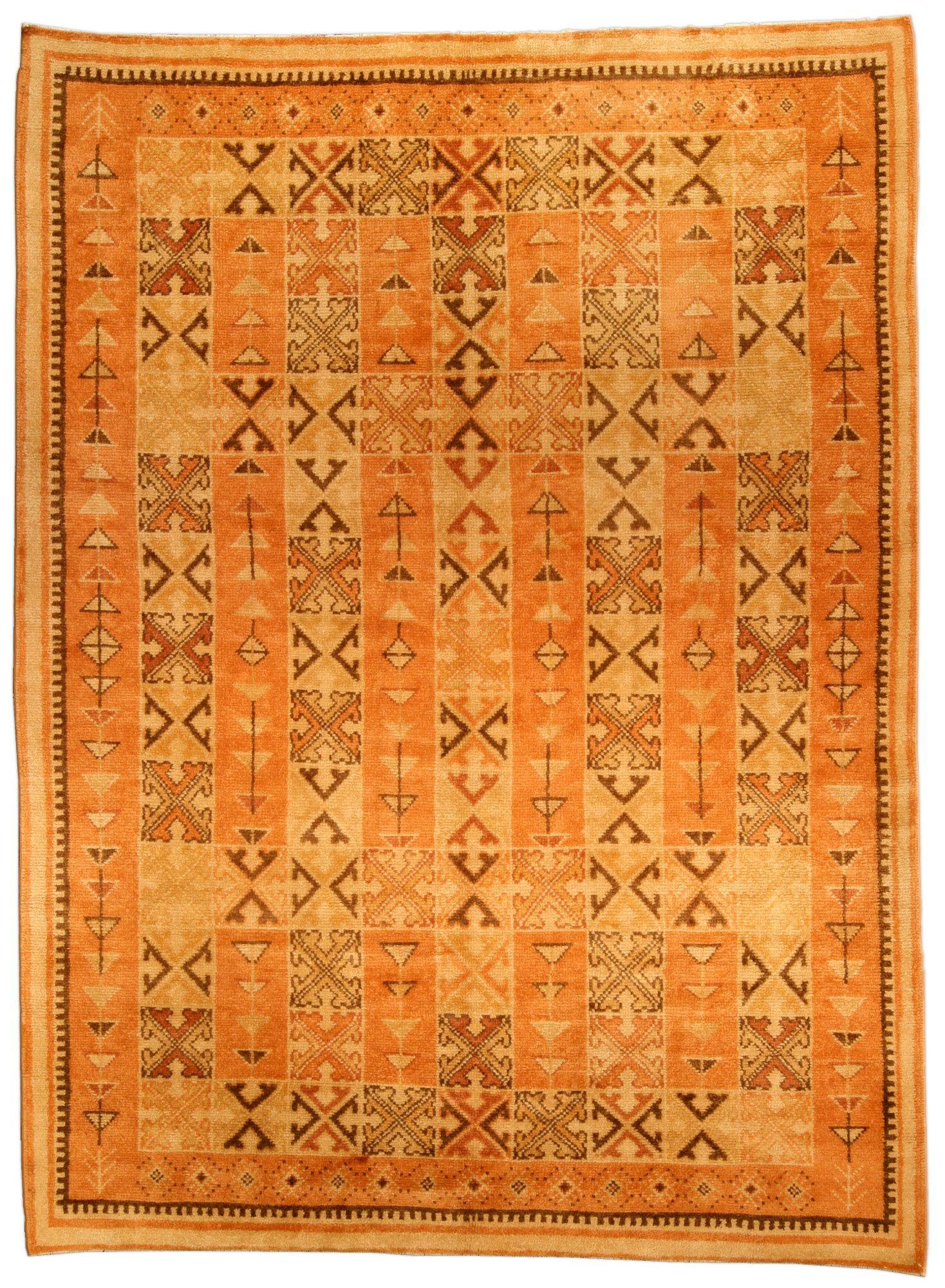 A Moroccan Carpet Bb4490  A Mid 20Th Century Tile