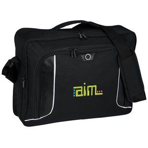 Your employees and customers would love this custom embroidered laptop  briefcase!