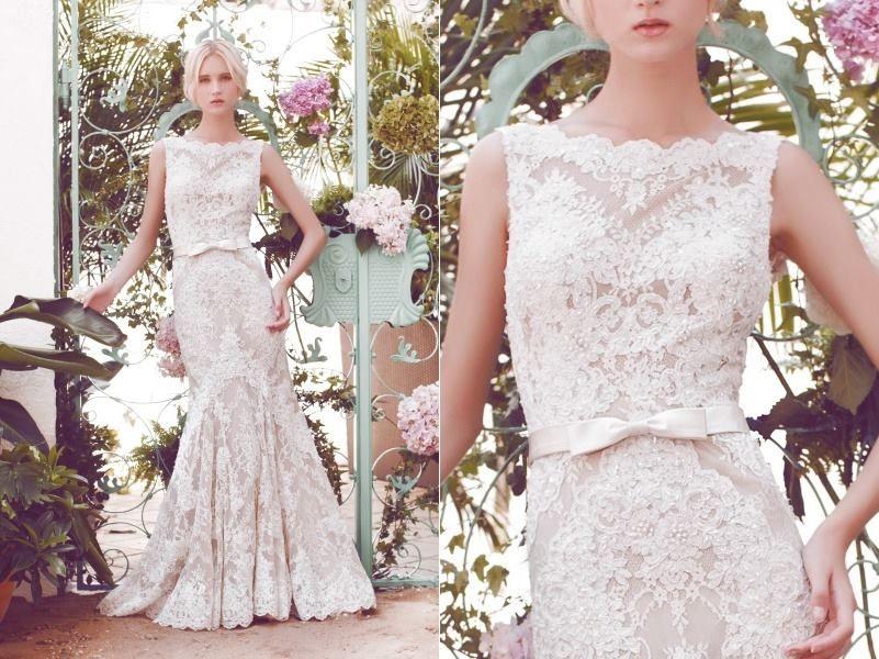 Sequin Under Lay Wedding Dress