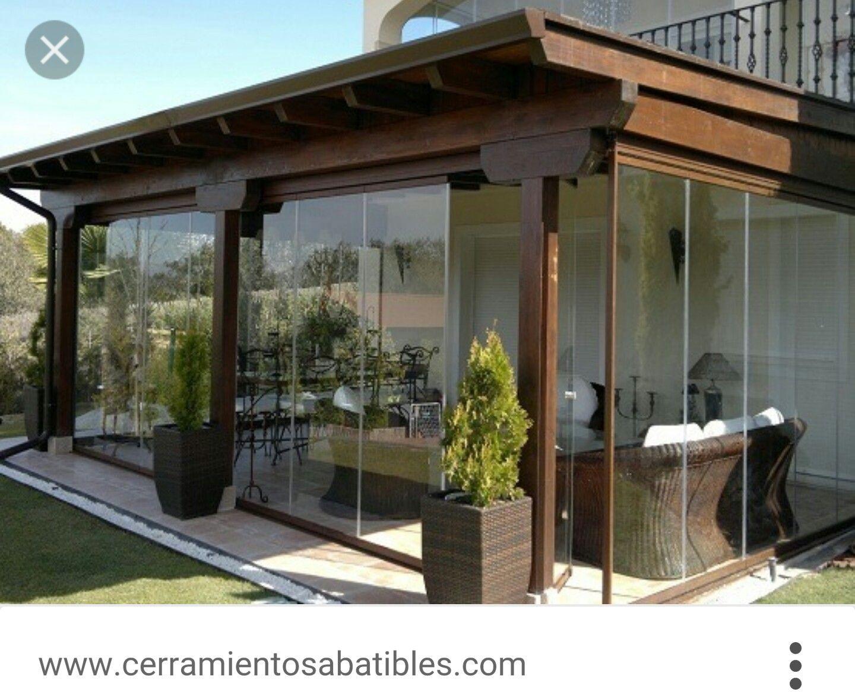 Cerramiento exterior | Home | Pinterest | Pergolas, Patios and Porch