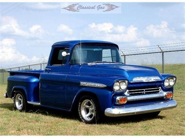 Chevy Pickup Truck History 1955 1959 Author Mark Trotta Chevy Trucks 1958 Chevy Truck Chevy Pickup Trucks