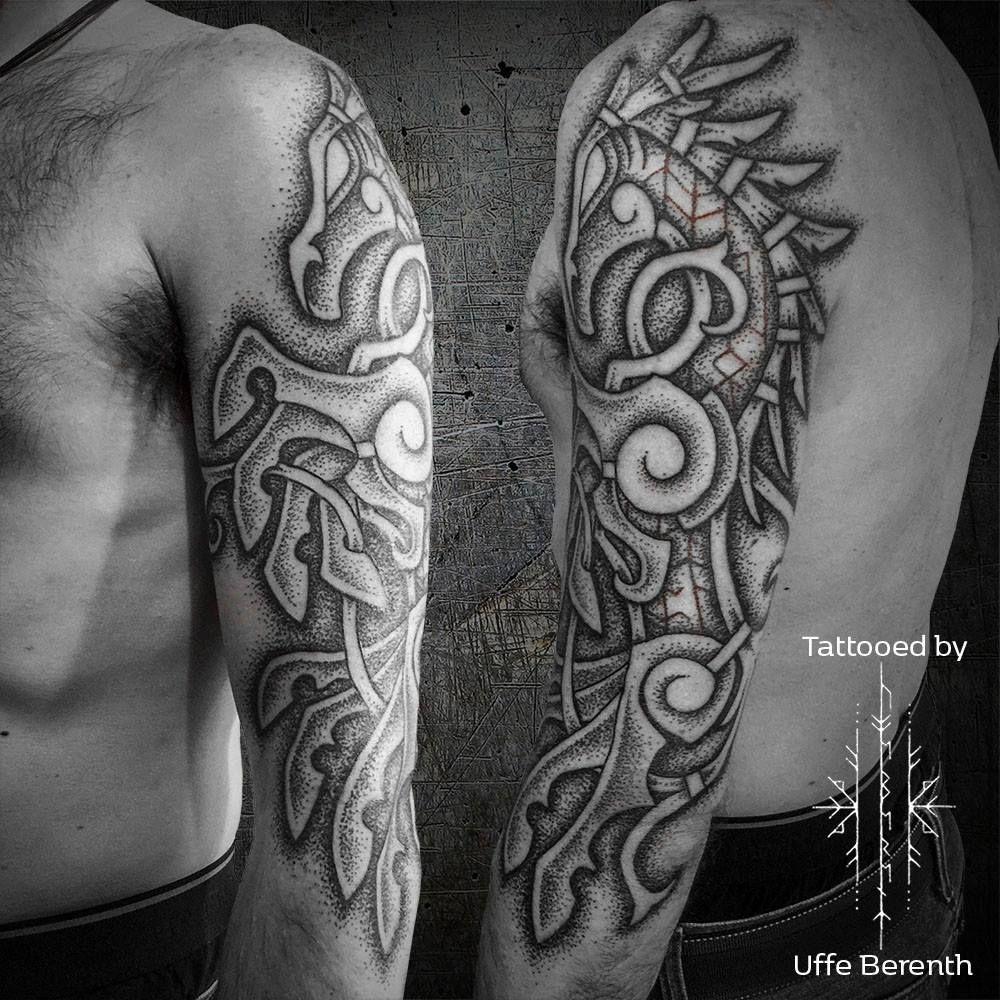 sleipner by uffe berenth geo pinterest nordic tattoo. Black Bedroom Furniture Sets. Home Design Ideas