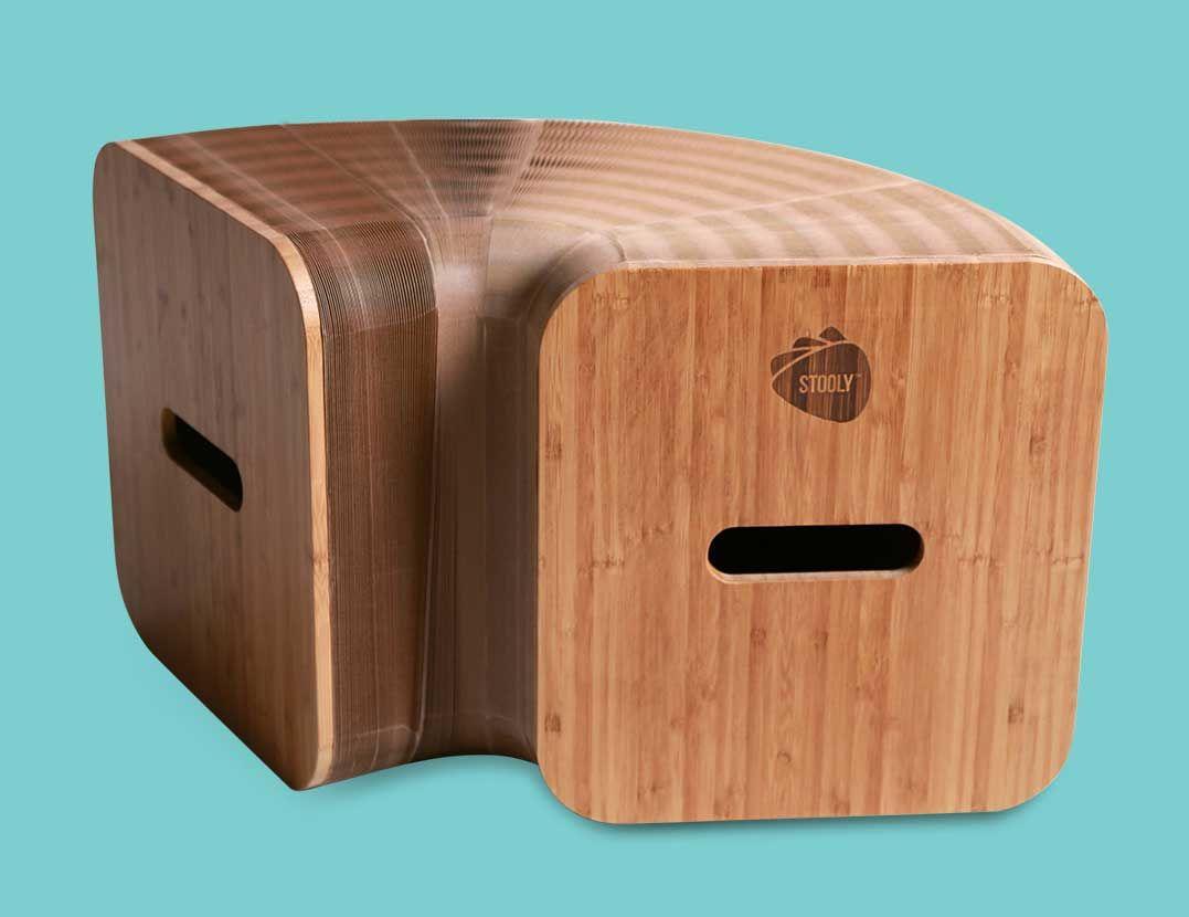 Bancs Stooly En Carton Renforce Et Pliable Banc Pliable Objet En Carton Mobilier
