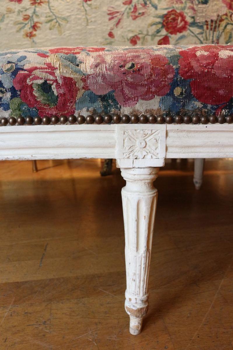 Banquette Louis XVI Et Sa Taerie d'Aubusson, Edith Davidson ... on