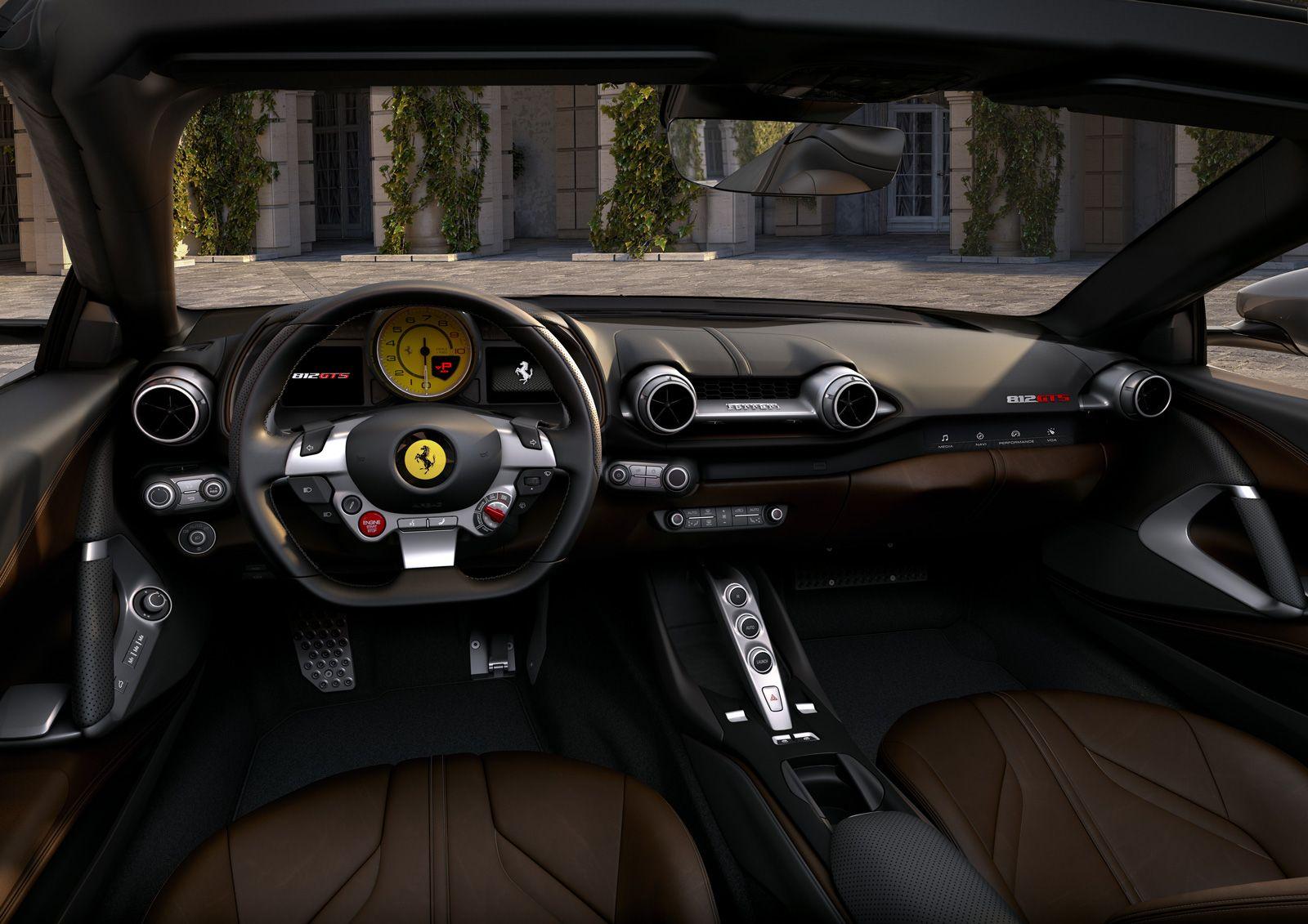 Ferrari 812 Gts Vuelve El Spider V12 Ferrari