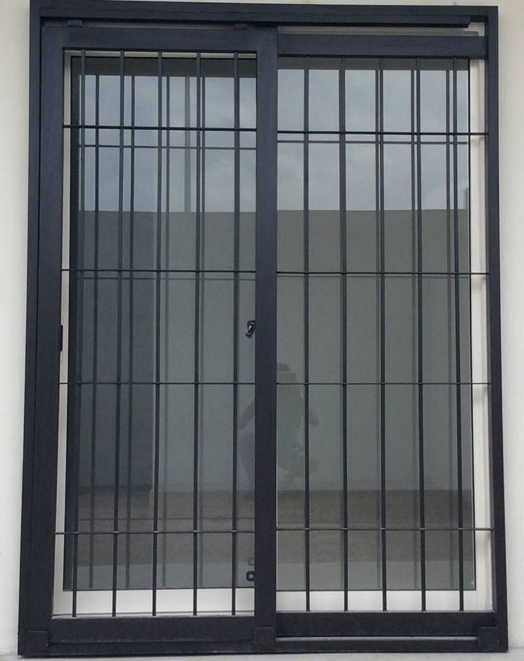 Puertas mosquiteras y corredizas herreria moderna for Puertas de hierro para casas modernas