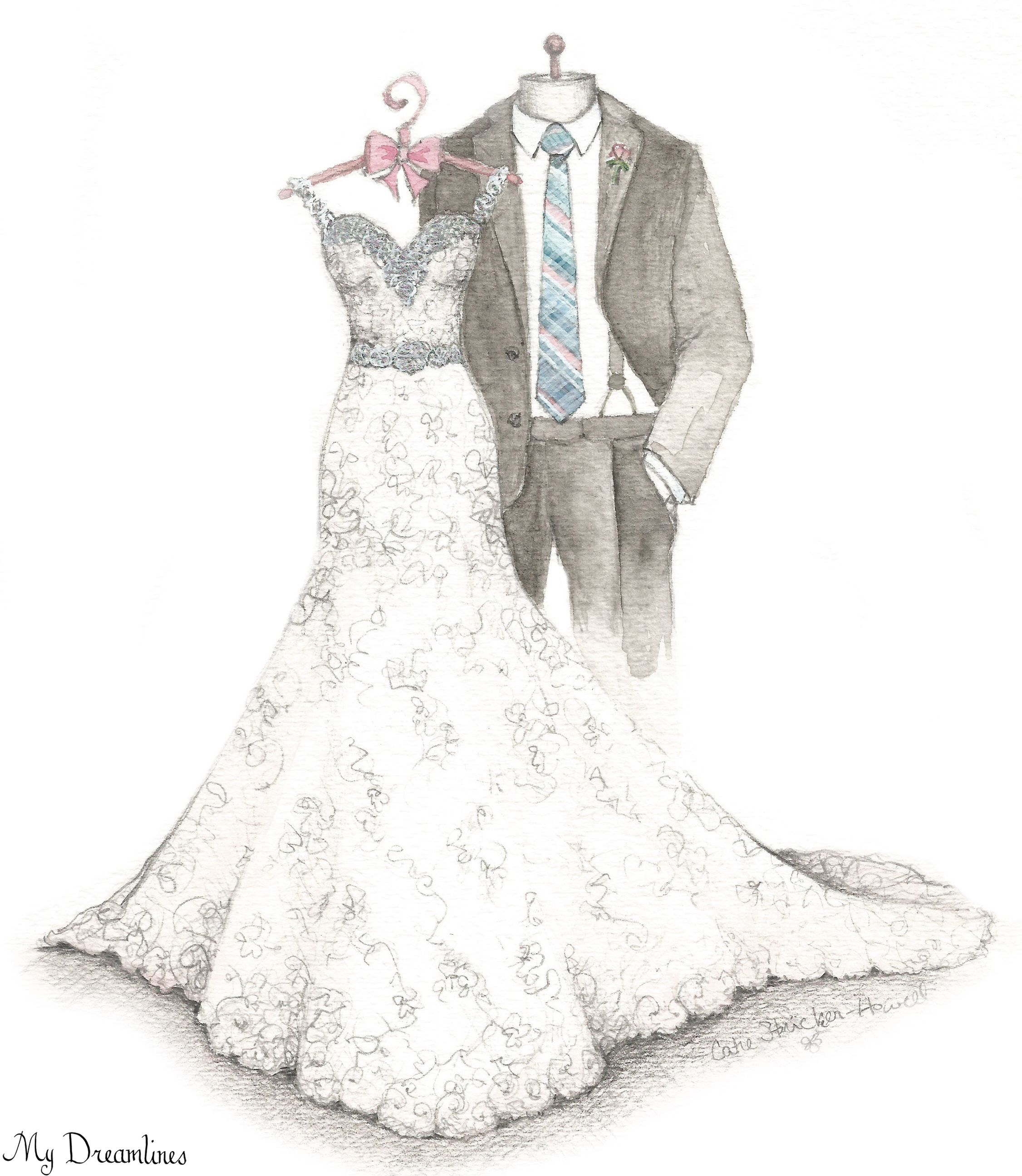 A Dreamlines Artist Creates Wedding Gifts To The Bride From The