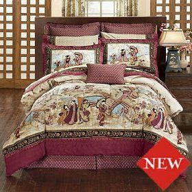 Oriental Bedding Sets King Size Asian Inspired Bedding Japanese